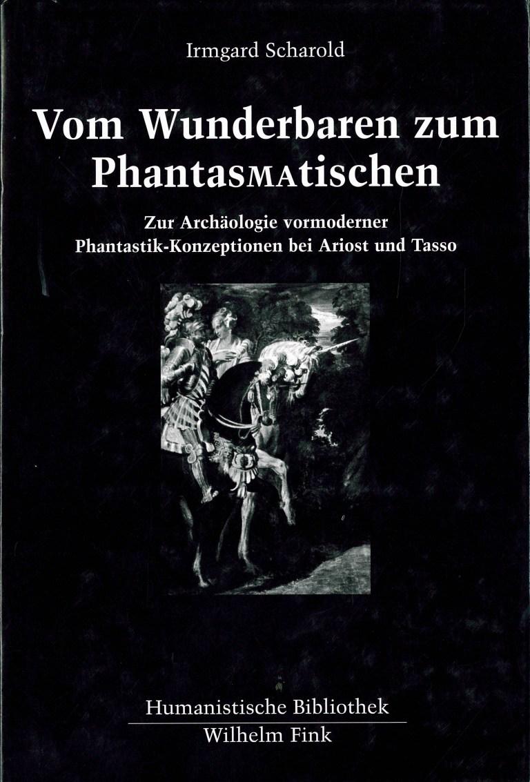 Vom Wunderbaren zum Phantasmatischen - Titelcover