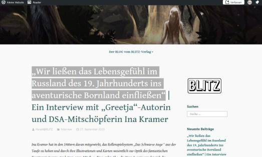 Blitz Verlag 2020-10-22