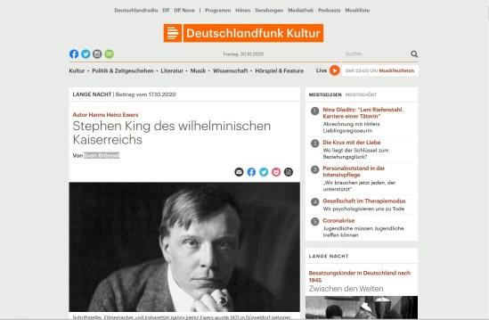 Deutschlandfunk 2020-11-01