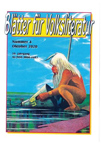 Blätter für Volksliteratur 4/2020 - Titelcover