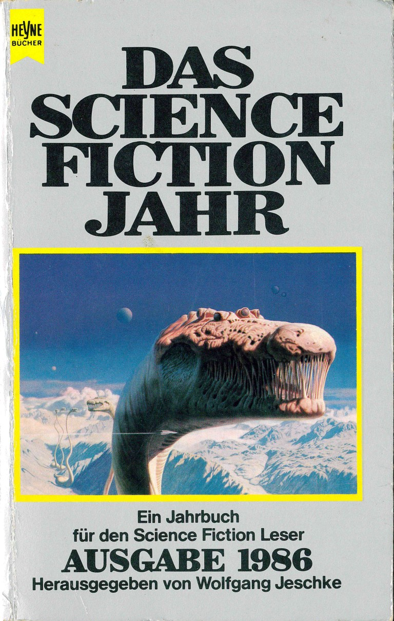 Das Science Fiction Jahr 1986 - Titelcover