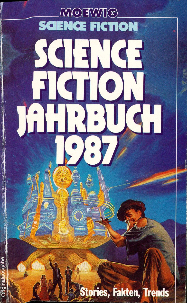 Science Fiction Jahrbuch 1987 - Titelcover