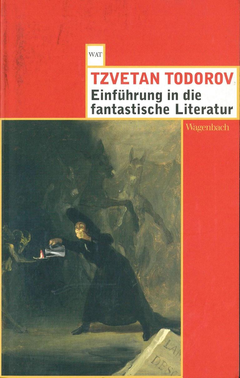 Einführung in die fantastische Literatur, Wagenbach - Titelcover
