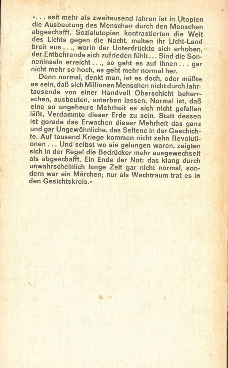 Freiheit und Ordnung - Rückencover