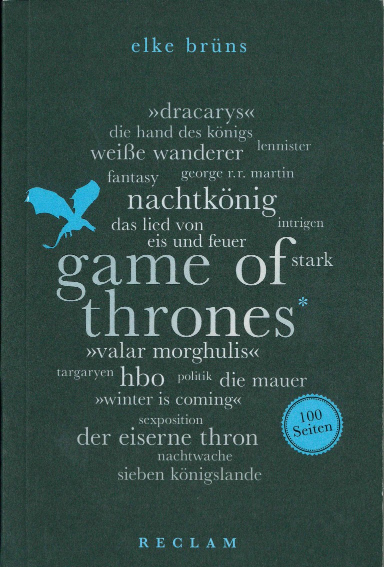 Game of Thrones-100 Seiten - Titelcover