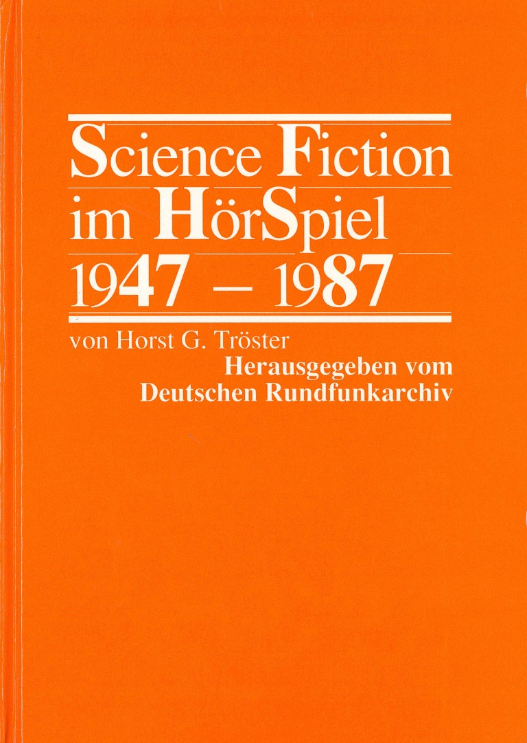 Science Fiction im Hörspiel - Titelcover