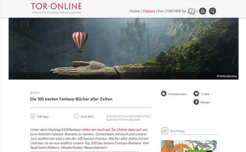 Tor-online.de - 2021-03-20