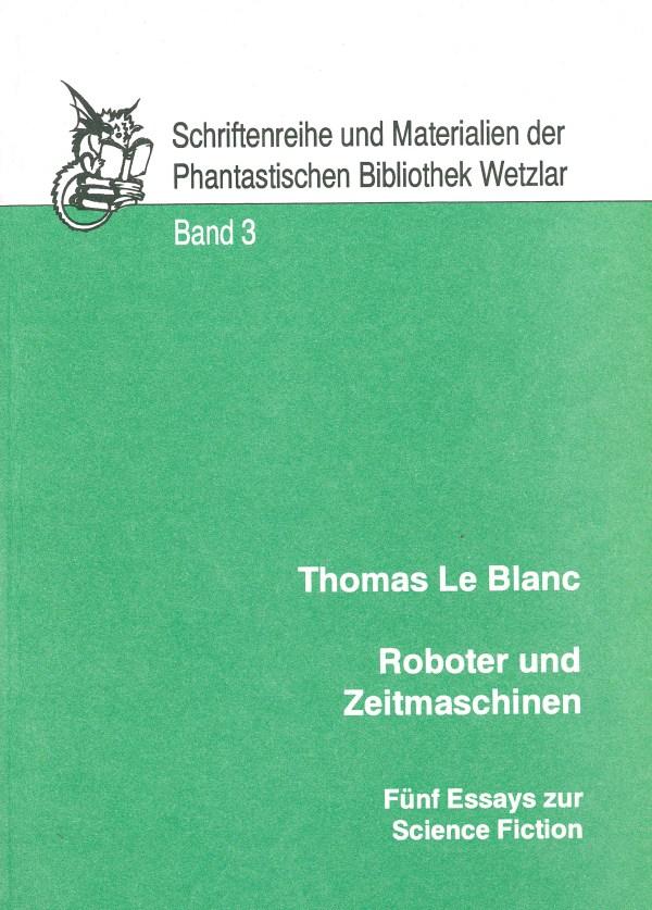 Roboter und Zeitmaschinen - Titelcover