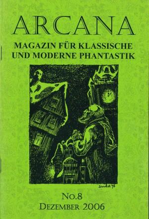 Arcana, Nr. 8, Dez 2006 - Titelcover