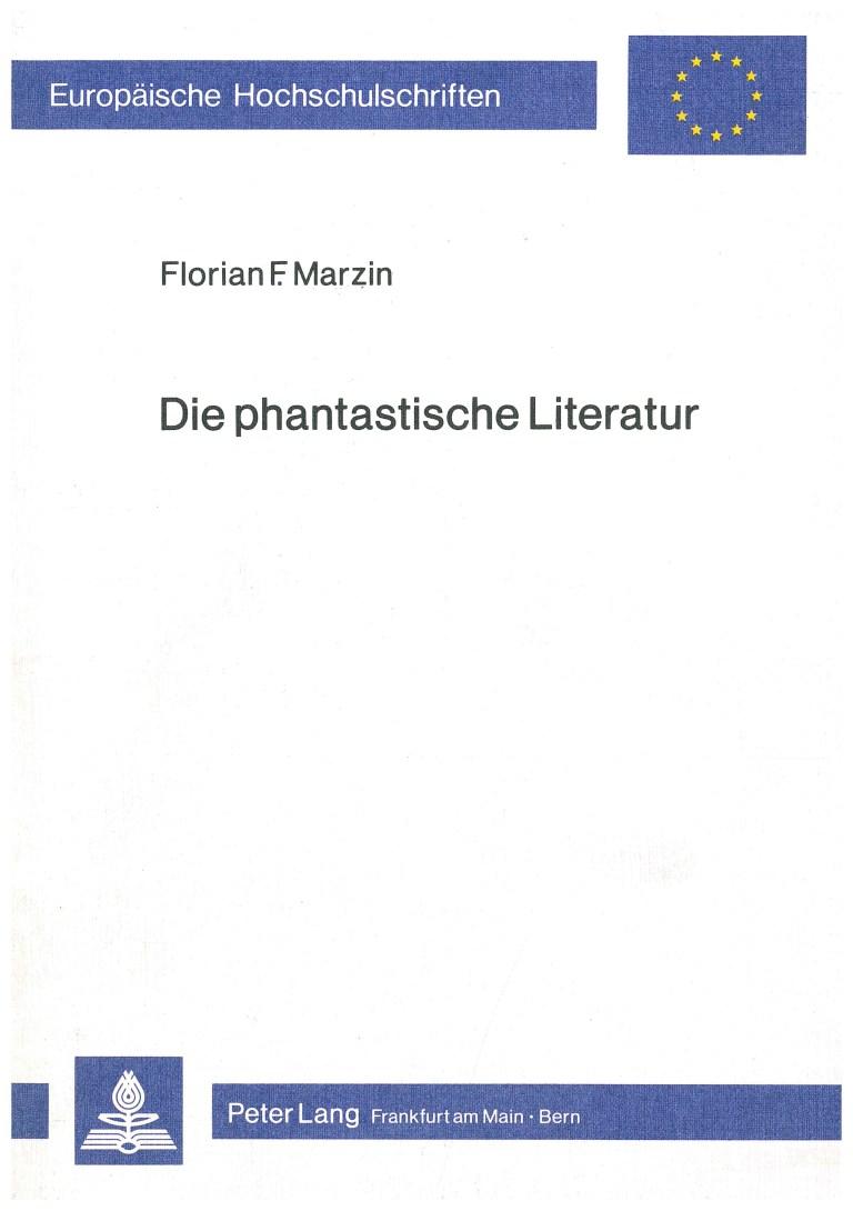Die phantastische Literatur - Titelcover