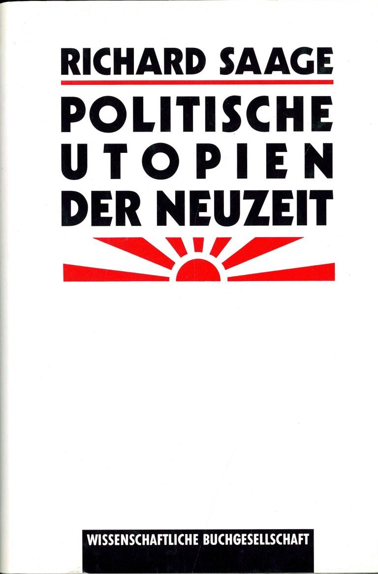 Politische Utopien der Neuzeit - Titelcover
