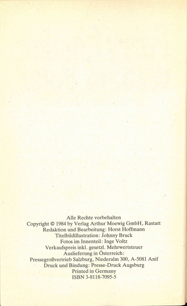 William Voltz Gedächtnisband - Impressum