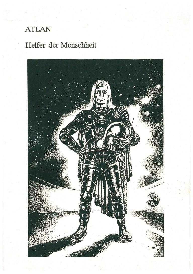 Atlan-Helfer der Menschheit - Titelcover