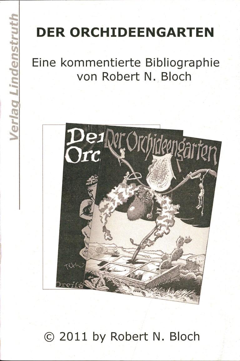Der Orchideengarten-Bibiographie - Titelcover