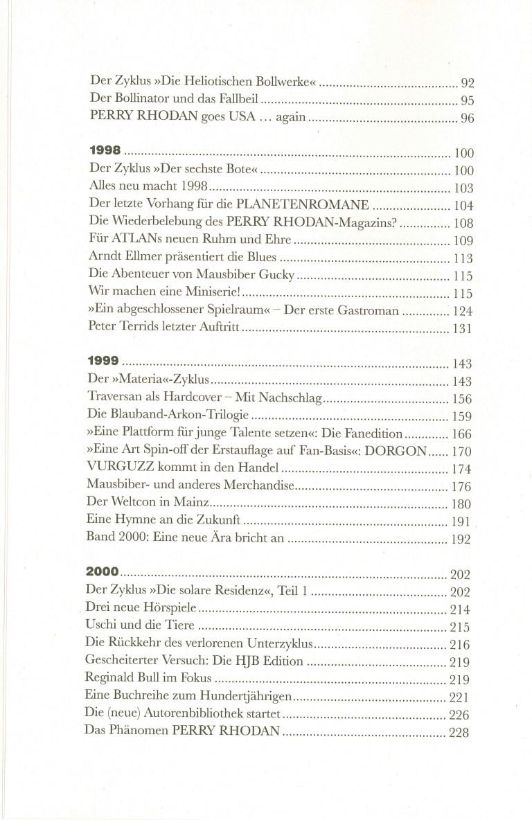 Perra Rhodan, Die Chronik, Band 4 - Inhalt Seite 2