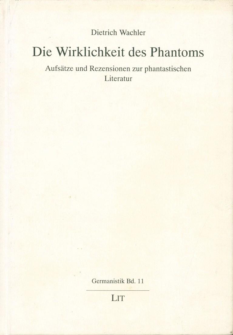Die Wirklichkeit des Phantoms - Titelcover