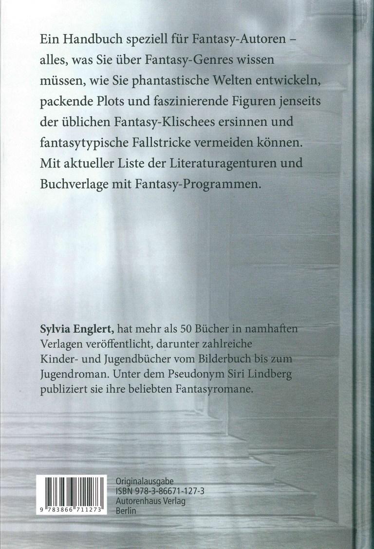 Fantasy schreiben & veröffentlichen - Rückencover