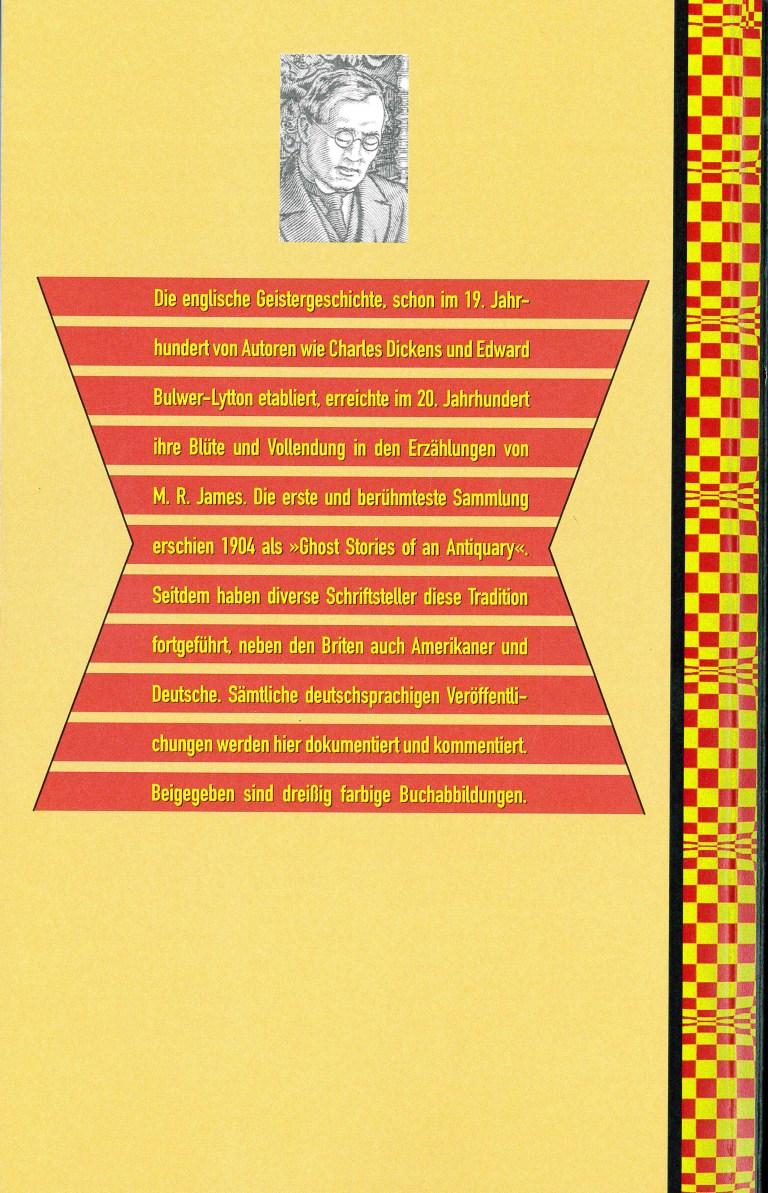 Die klassische englische Geistergeschichte - Rückencover