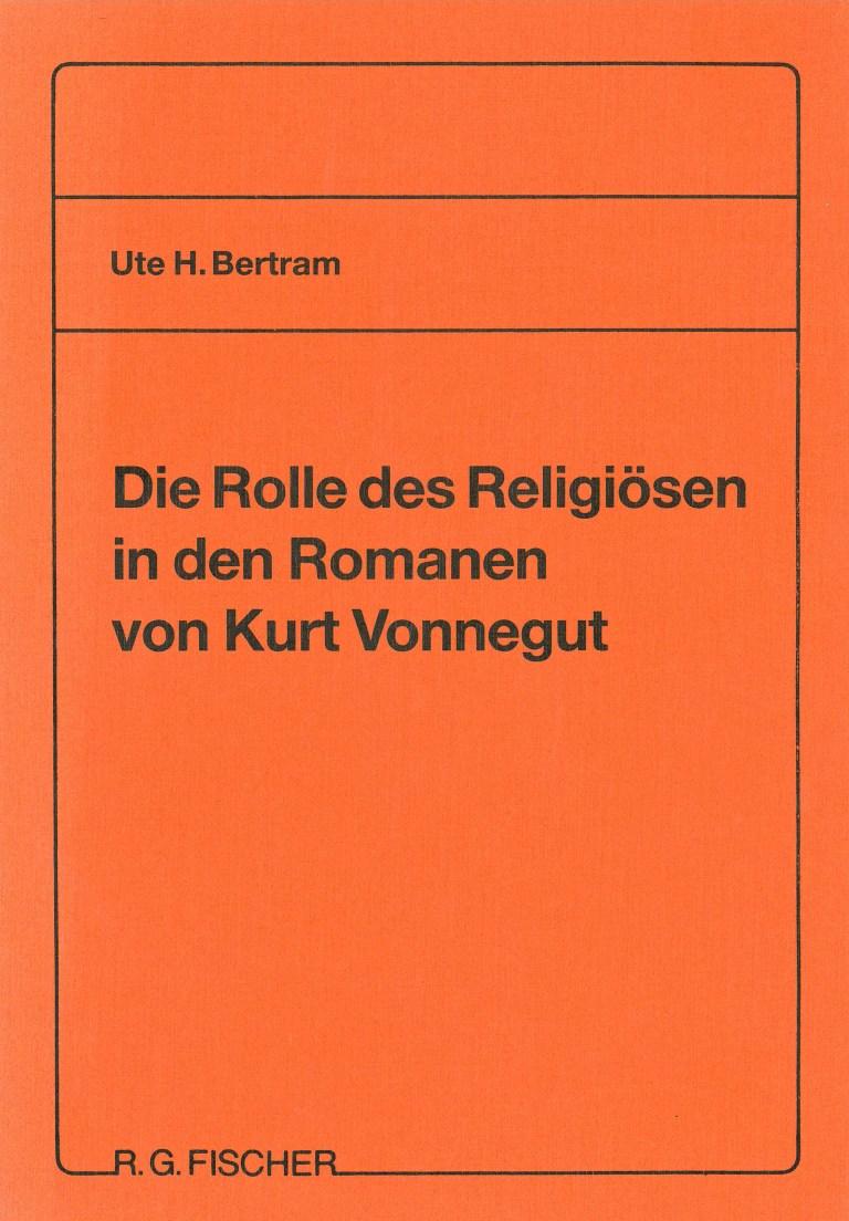 Die Rolle des Religiösen in den Romanen von Kurt Vonnegut - Titelcover