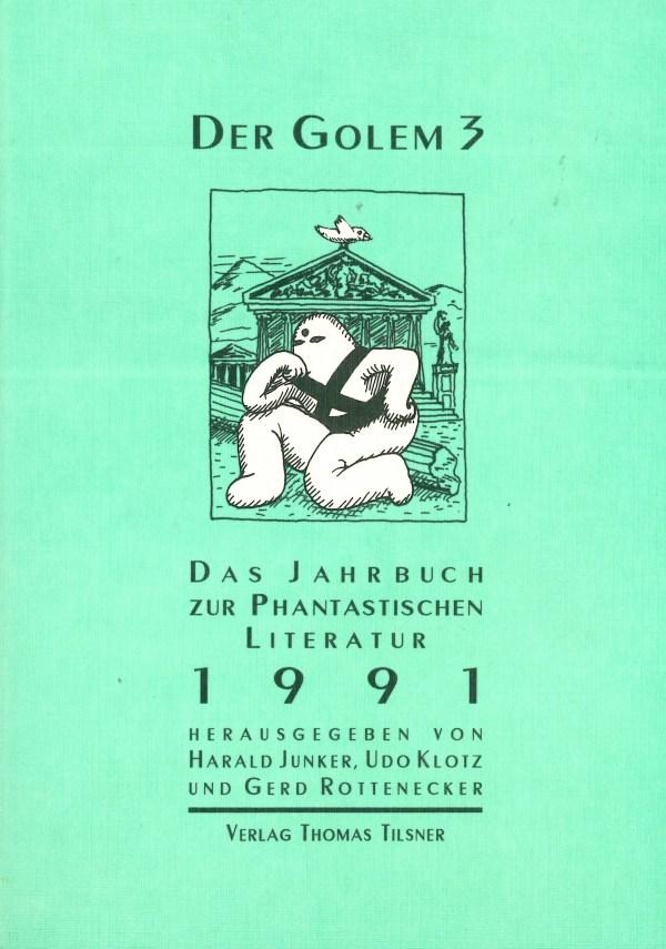Golem 3, 1991 - Titelcover
