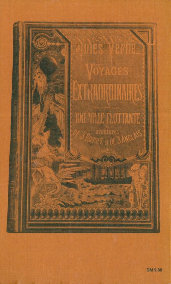Jules Verne (Rowohlt) - Rückencover