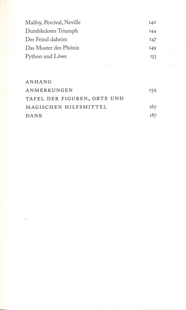 Warum Nabokov Harry Potter gemocht hätte - Inhalt Seite 3