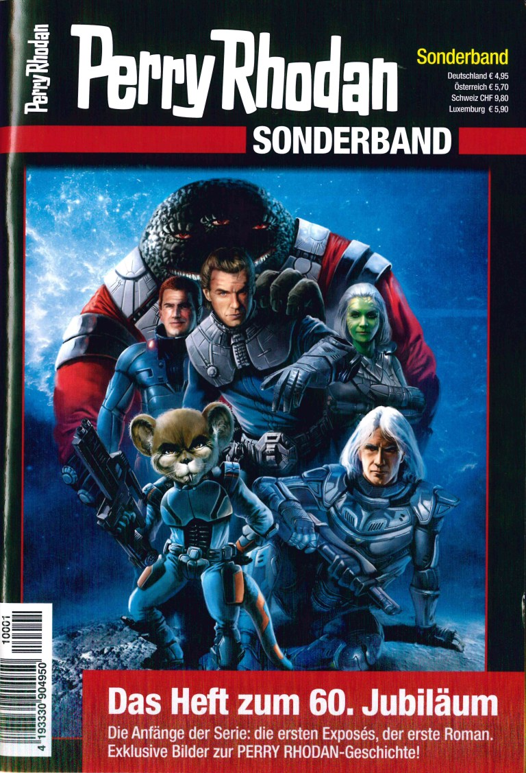 Perry Rhodan Sonderband 2021 - Titelcover