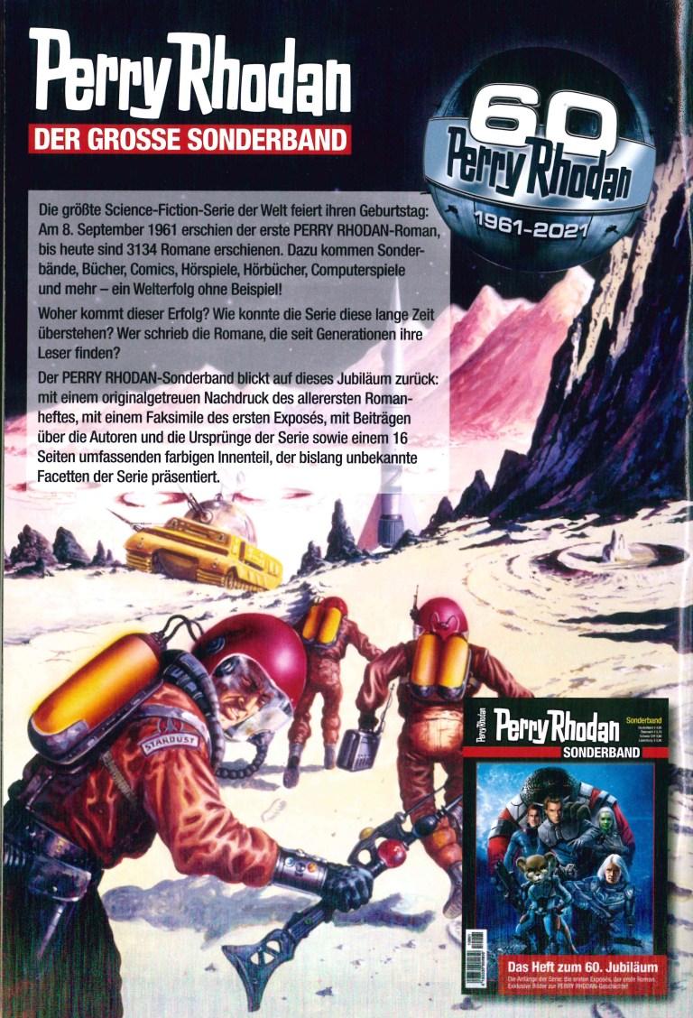 Perry Rhodan Sonderband 2021 - Rückencover