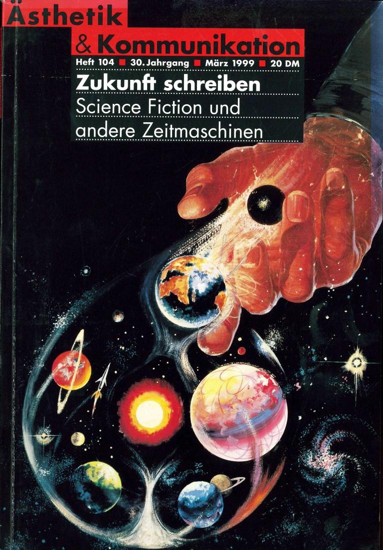 Ästhetik und Kommunikation, Nr. 104 - Titelcover