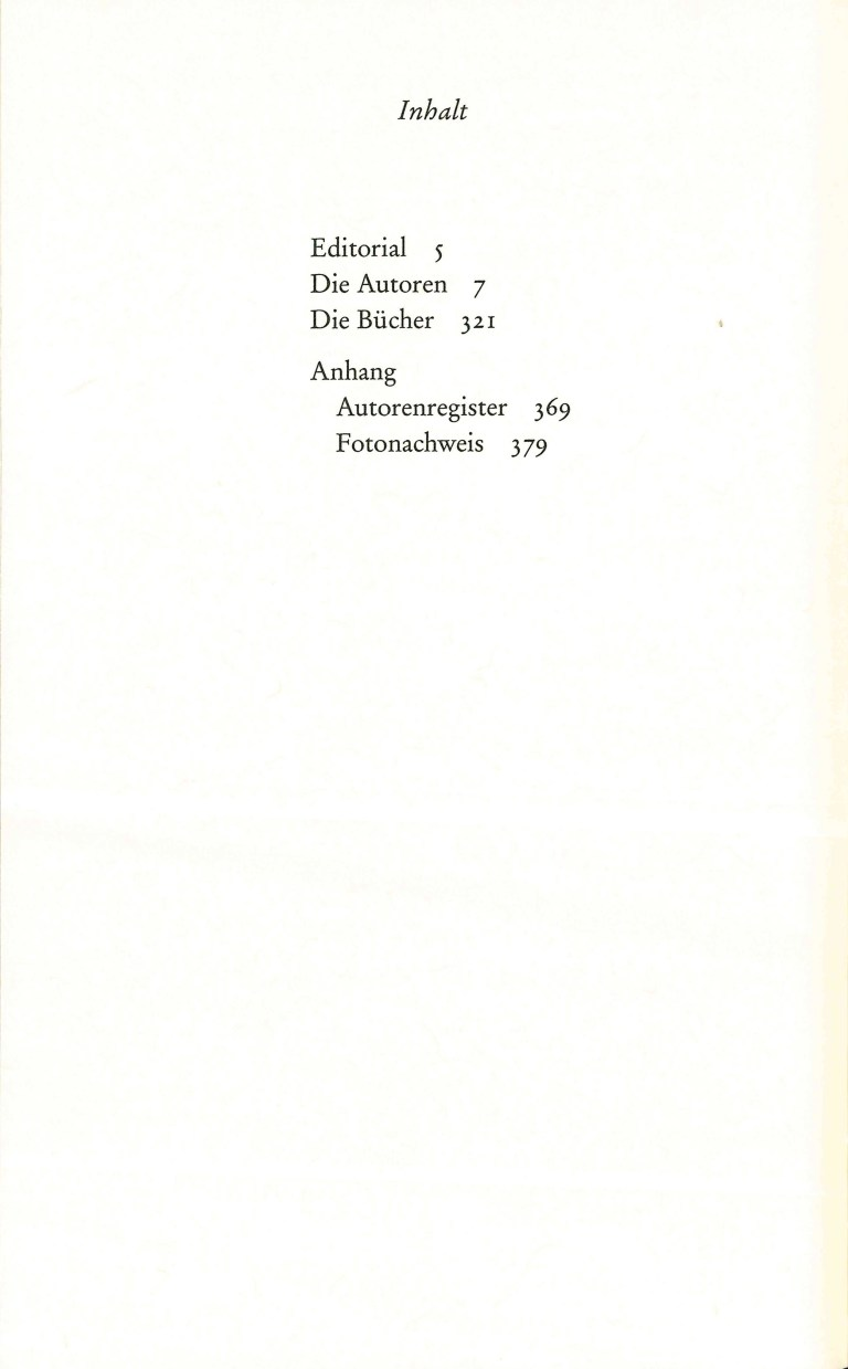 Diogenes Autoren Album - Inhalt