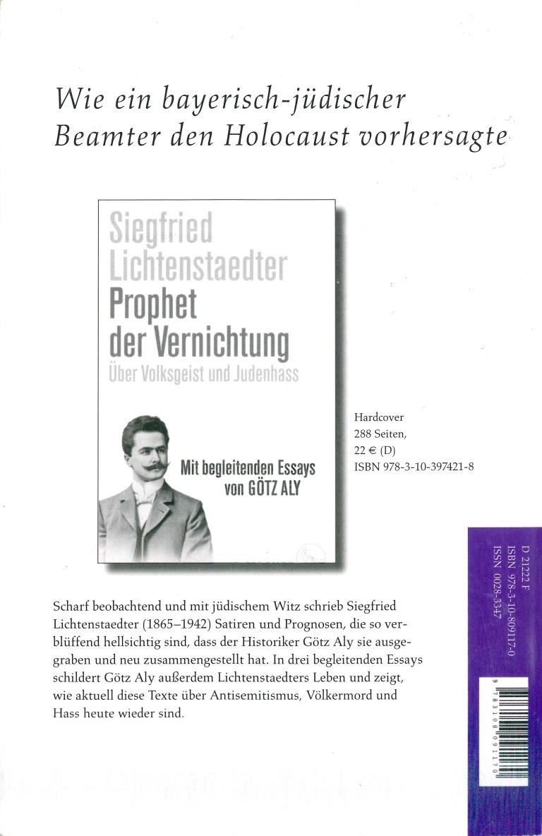 NEue Rundschau, Heft 1, 2019 - Rückencover