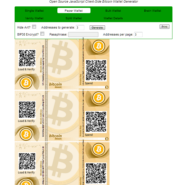 Newbie Guide to Bitcoin Paper Wallets • Sebfor - Bitcoin, Ethereum