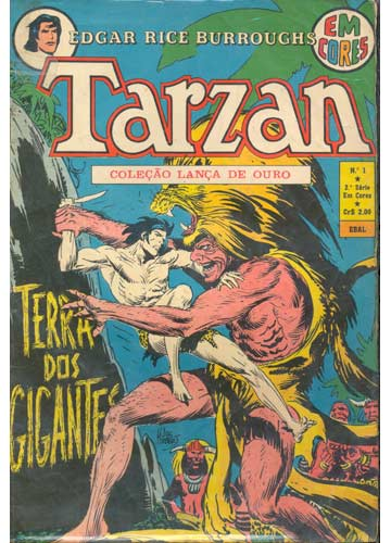 Gibi  Tarzan  N01  Terra Dos Gigantes  2 Srie  Sebo do Messias