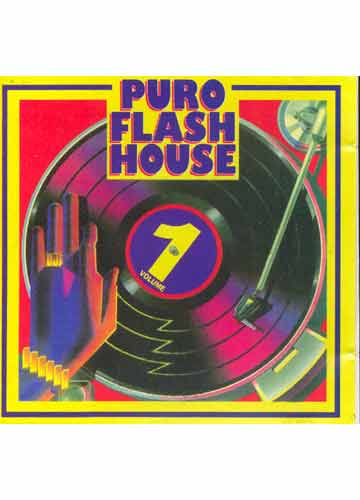 CD  Puro Flash House  Volume 1  Sebo do Messias