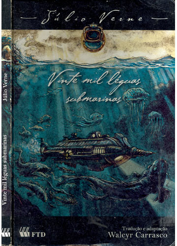 Livro  Vinte Mil Lguas Submarinas  Sebo do Messias