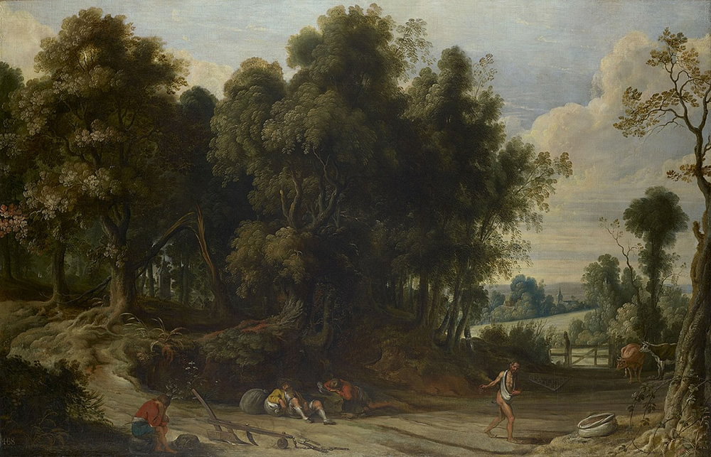Jan Wildens, Landscape with the Devil Sowing Tares