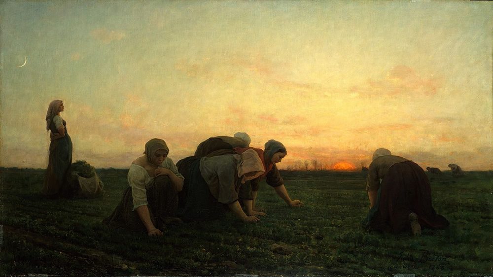 Jules Breton, The Weeders