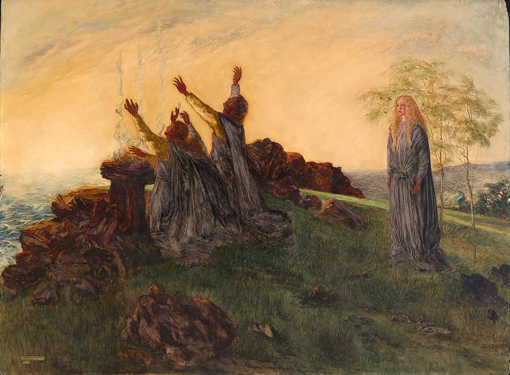 Da Loria Norman, The Passing of St. Brighid