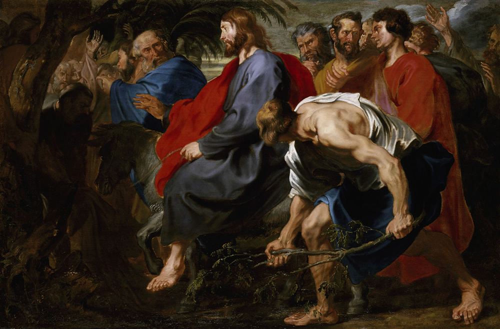 Anthony van Dyck, Entry of Christ into Jerusalem