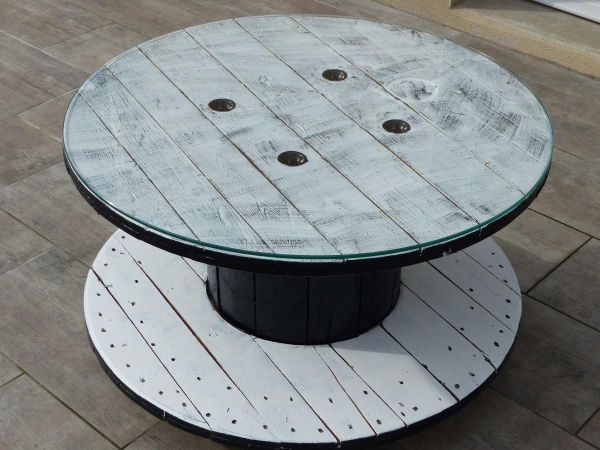 Touret Table Basse Jardin | Beautiful Touret Bois Table De Jardin ...