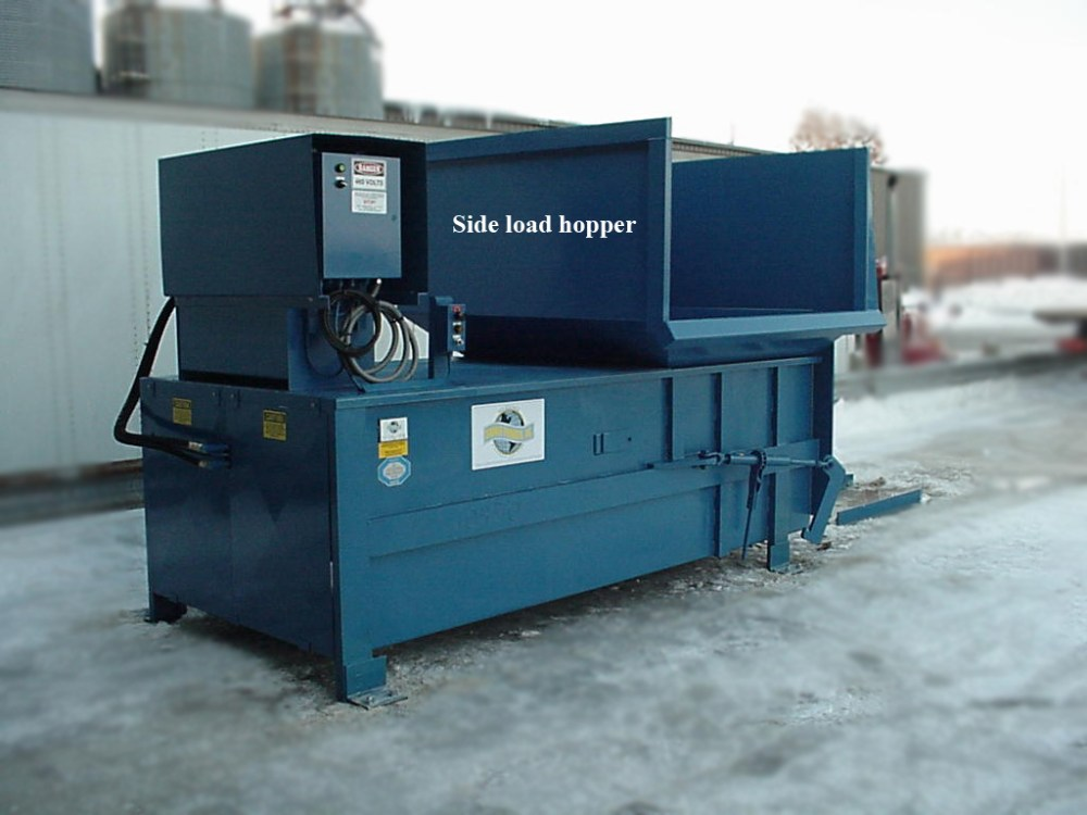 medium resolution of the sebright 6 cubic yard machine with a 98 x 60 chamber opening is often utilized in an open area outside with a
