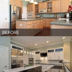 Kitchen Remodels Before And After Pig Doug Natalie 39s Pictures Home