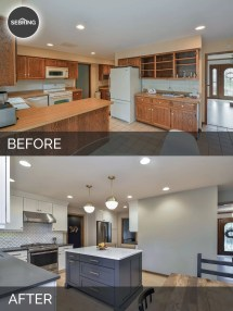 Kitchen Home Renovations Before and After