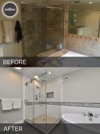 Greg & Julie's Master Bathroom Remodel Before & After ...