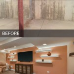 Carole S Basement Before After Pictures Home Remodeling