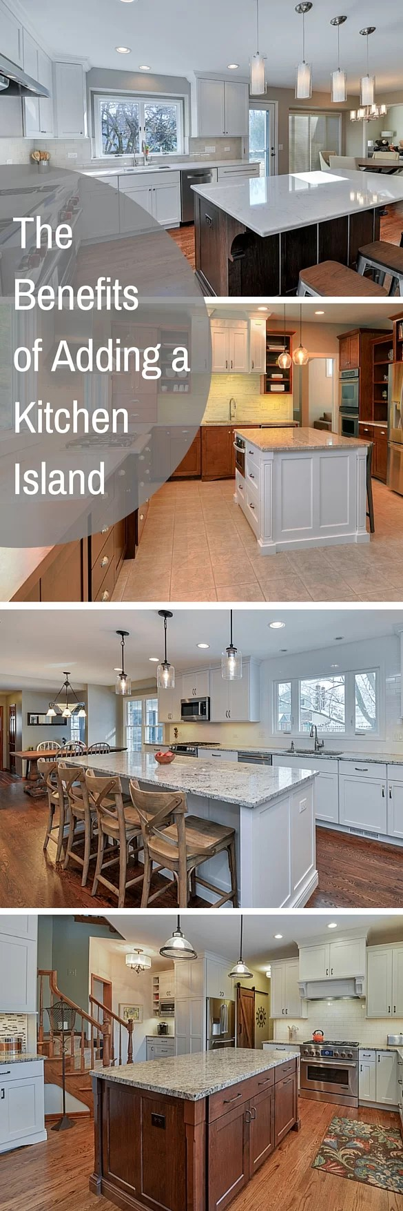 the benefits of adding an island to your kitchen | home remodeling