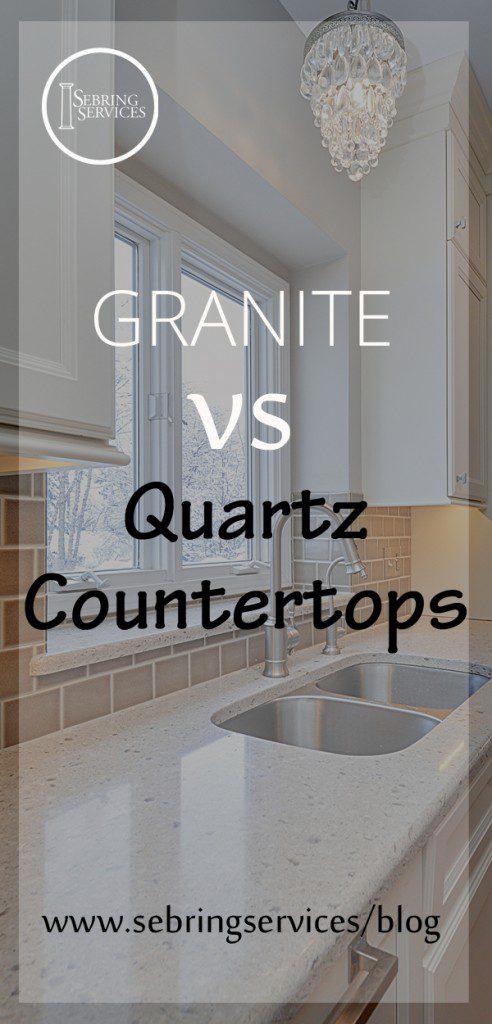 Pros and Cons of Quartz vs Granite Countertops The