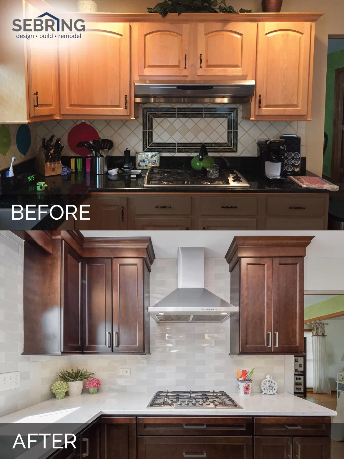 Sue  Russells Kitchen Before  After Pictures  Home