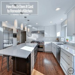 How Much Does Kitchen Remodel Cost Free Standing Cabinets It To A In Naperville ...