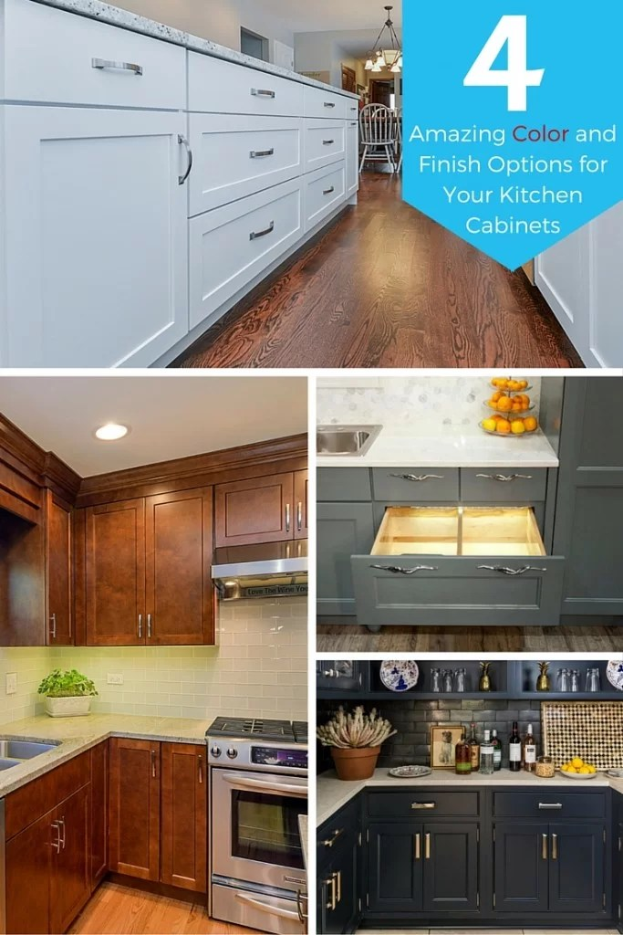 colors of kitchen cabinets small island ideas with seating 4 amazing color and finish options for your home four